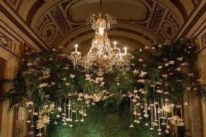 婚庆客厅布置效果图_婚庆布置-找我婚礼