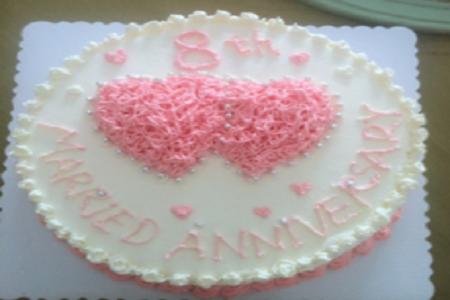 结婚纪念日蛋糕_结婚周年生日蛋糕图片_结婚蛋糕-找我婚礼